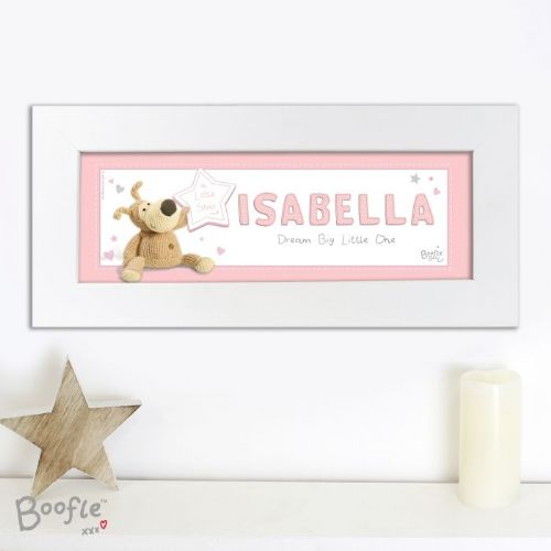 Boofle It's a Girl Name Frame